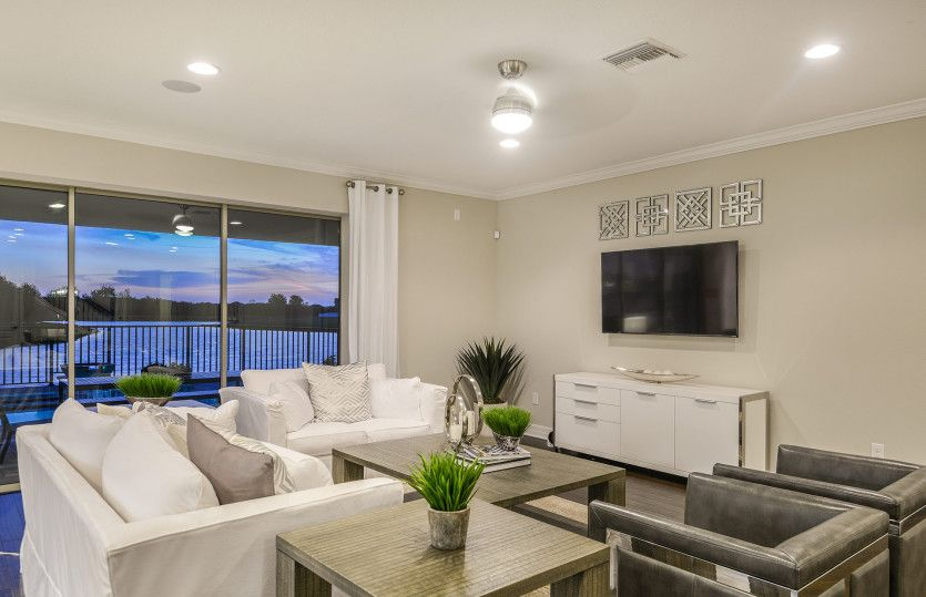 Living Area featured in the Dockside Grand By Centex Homes in Tampa-St. Petersburg, FL