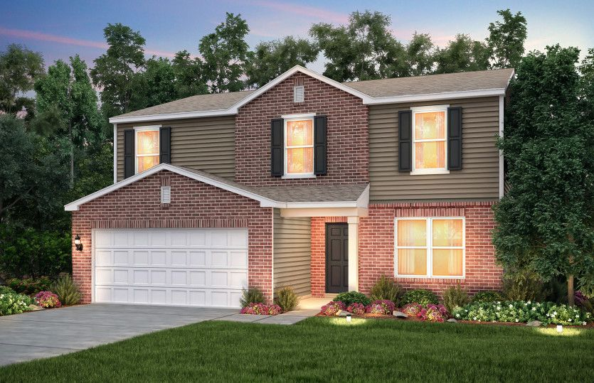 Exterior featured in the Aspire By Centex Homes in Louisville, KY