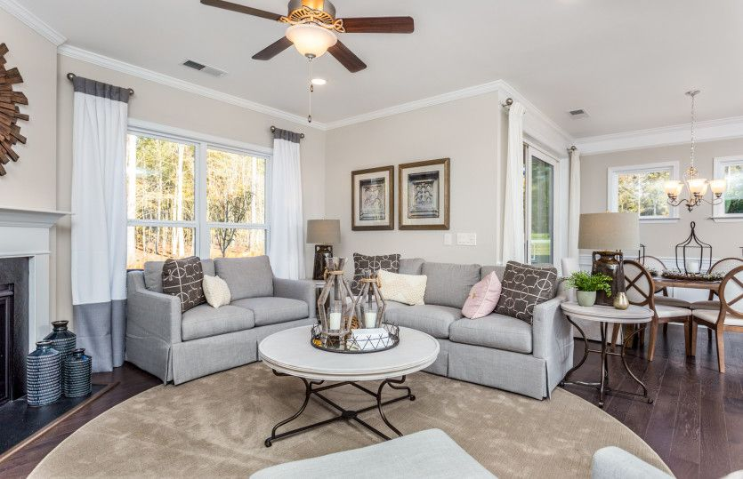 Living Area featured in the Castle Rock By Centex Homes in Raleigh-Durham-Chapel Hill, NC