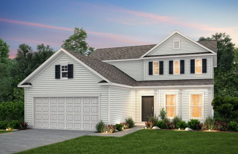 Exterior featured in the Hartwell By Centex Homes in Wilmington, NC
