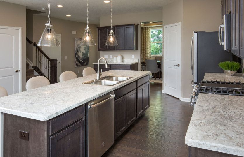 Kitchen-in-Mitchell-at-Crossings at Rocky Fork-in-Westerville