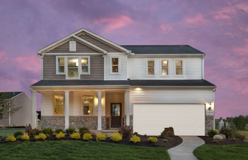 Jefferson Run East By Centex Homes In Columbus Ohio