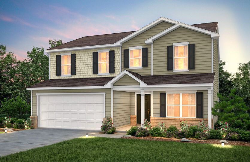 Exterior featured in the Aspire By Centex Homes in Hilton Head, SC