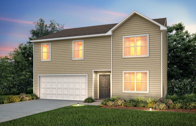 Exterior featured in the Hampton By Centex Homes in Hilton Head, SC