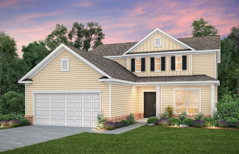 Exterior featured in the Hartwell By Centex Homes in Myrtle Beach, SC
