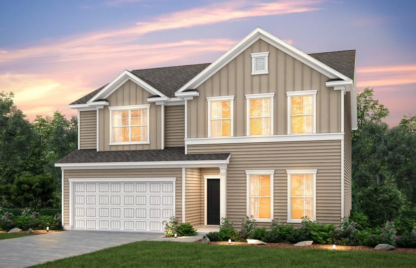 Exterior featured in the Mitchell By Centex Homes in Myrtle Beach, SC