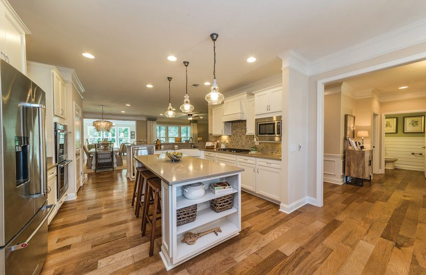 Kitchen-in-Tangerly Oak-at-Heritage Preserve-in-Conway