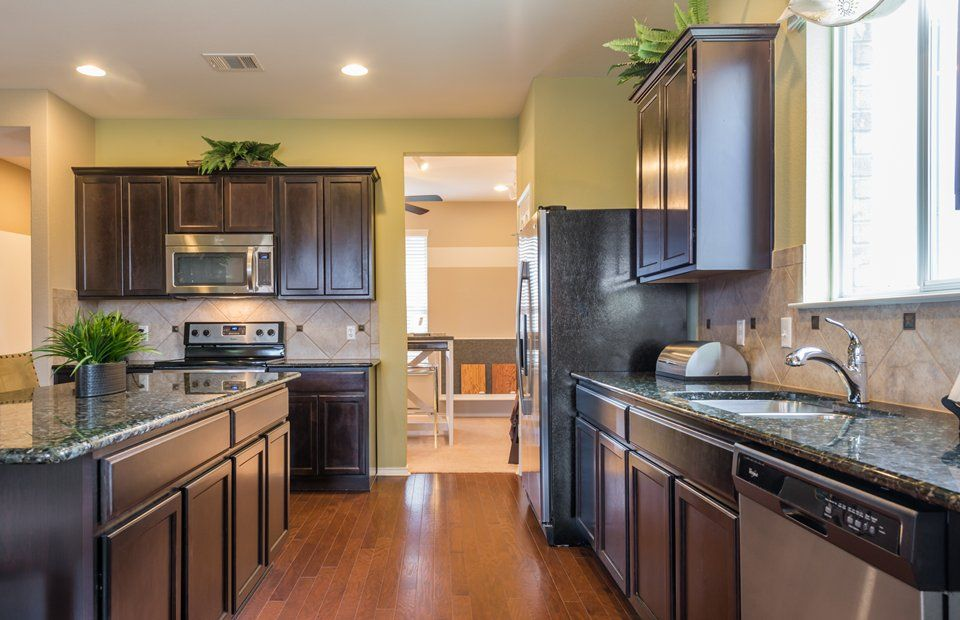 Kitchen-in-Mallory-at-Bellingham Meadows-in-Austin