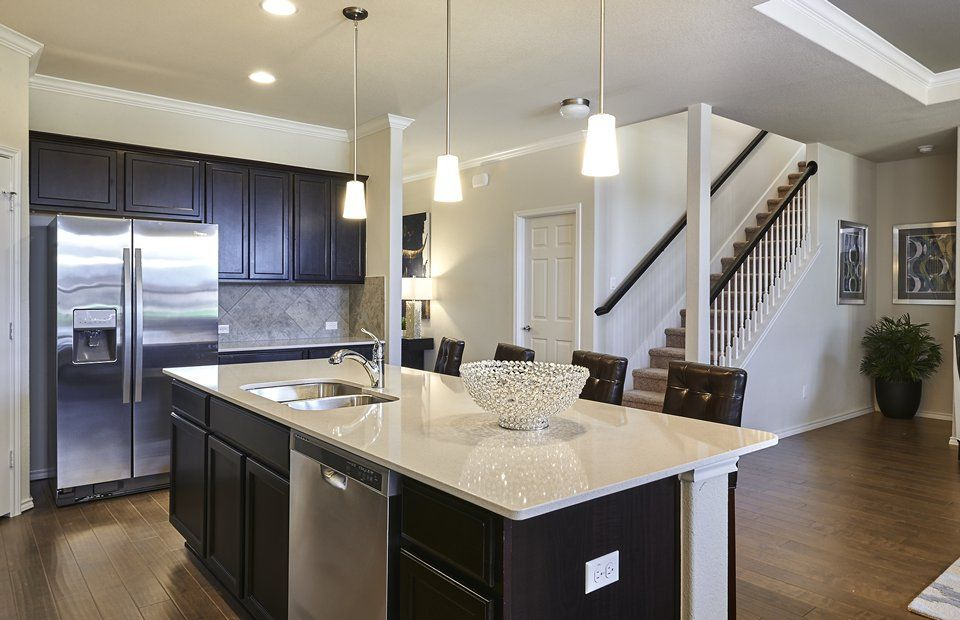 Kitchen-in-Claypool-at-Bellingham Meadows-in-Austin