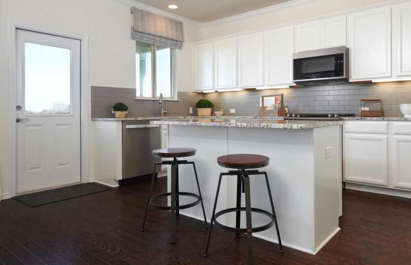 Kitchen featured in the Mesilla By Centex Homes in Austin, TX
