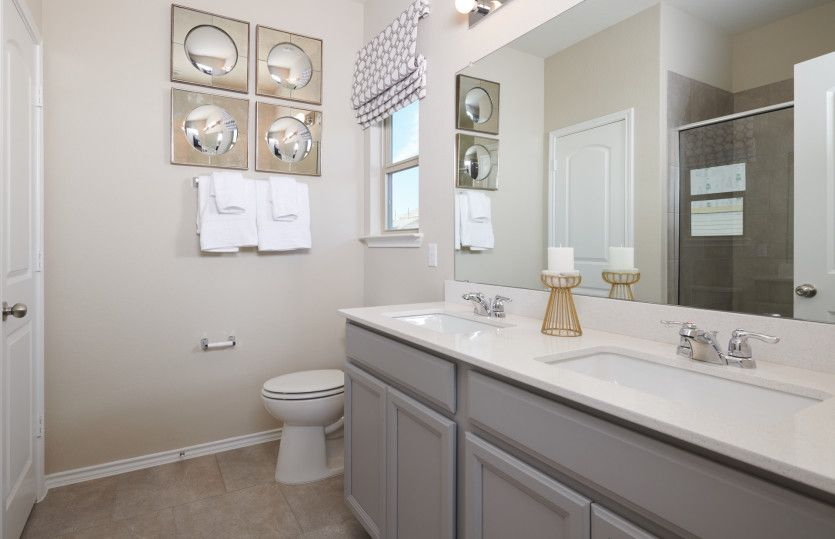 Bathroom featured in the Hewitt By Centex Homes in Austin, TX