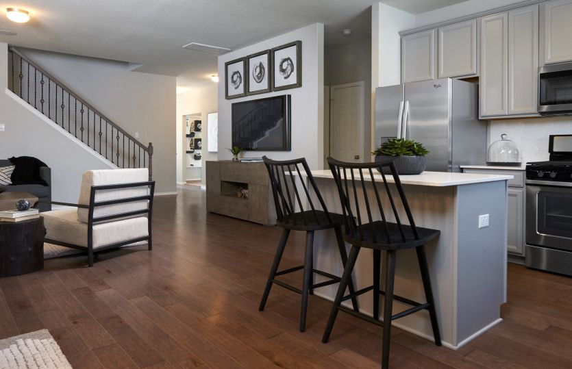 Kitchen featured in the Granville By Centex Homes in Austin, TX