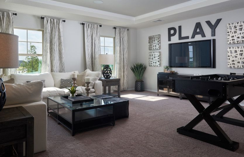 Living Area featured in the Granville By Centex Homes in Austin, TX