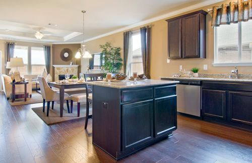 Kitchen-in-Morgan-at-Travis Ranch-in-Forney