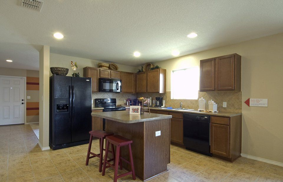Kitchen-in-Hewitt-at-Forbes Crossing-in-Houston