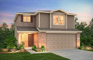Lincoln - The Pines At Seven Coves: Willis, Texas - Centex Homes