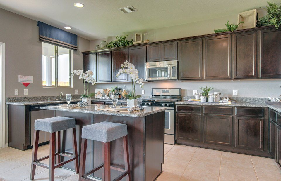 Kitchen-in-Mesilla-at-Retreat at Champions Landing-in-Houston