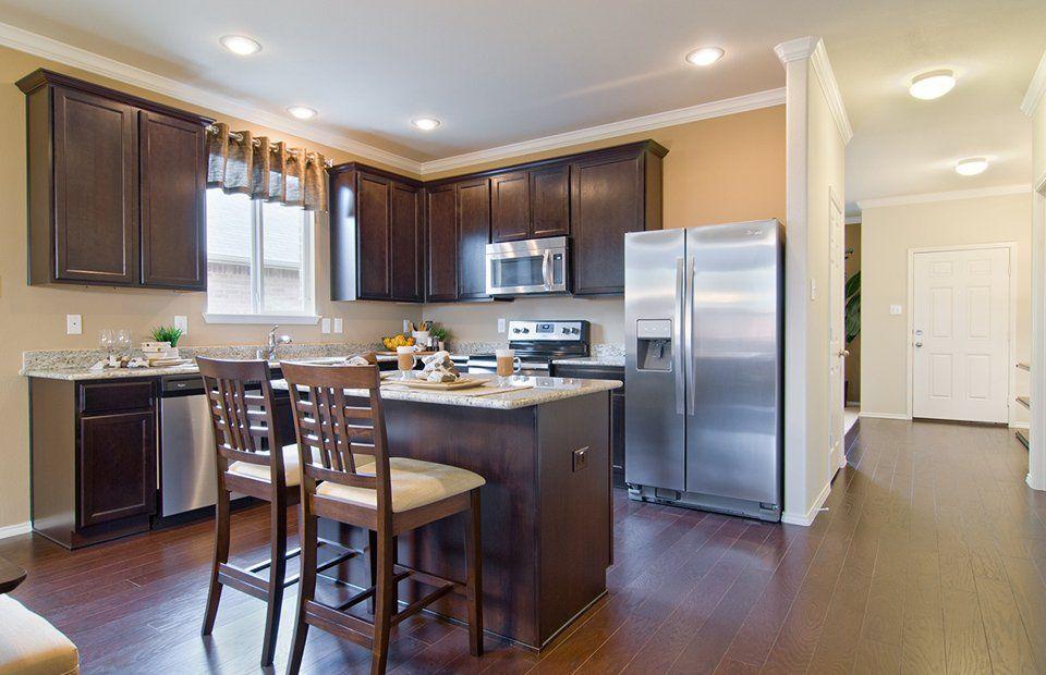 Kitchen-in-Morgan-at-Katy Crossing-in-Katy