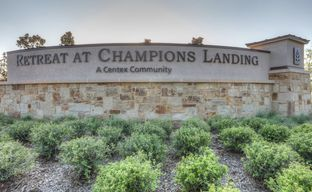 Retreat at Champions Landing by Centex Homes in Houston Texas