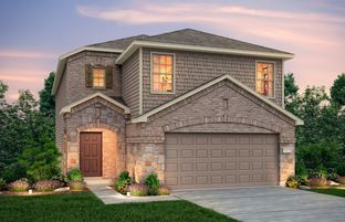 Pierce - The Pines At Seven Coves: Willis, Texas - Centex Homes