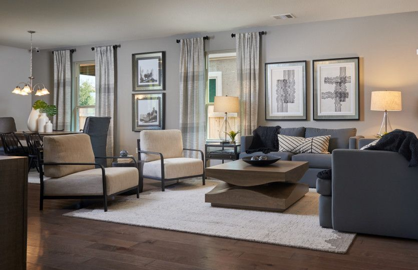 Living Area featured in the Granville By Centex Homes in San Antonio, TX