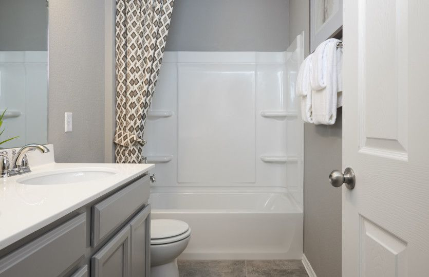 Bathroom featured in the Granville By Centex Homes in San Antonio, TX