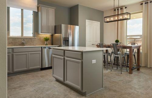 Kitchen-in-Kisko-at-Sterling Ridge-in-San Antonio