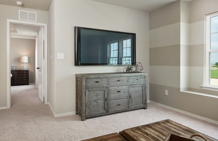 Living Area featured in the Mesilla By Centex Homes in San Antonio, TX