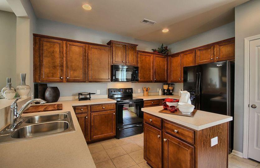 Kitchen-in-Douglas-at-Hidden Valley-in-Fuquay Varina