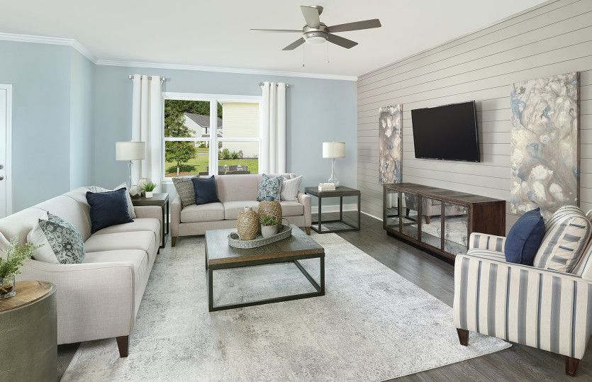 Living Area featured in the Mitchell By Centex Homes in Myrtle Beach, SC