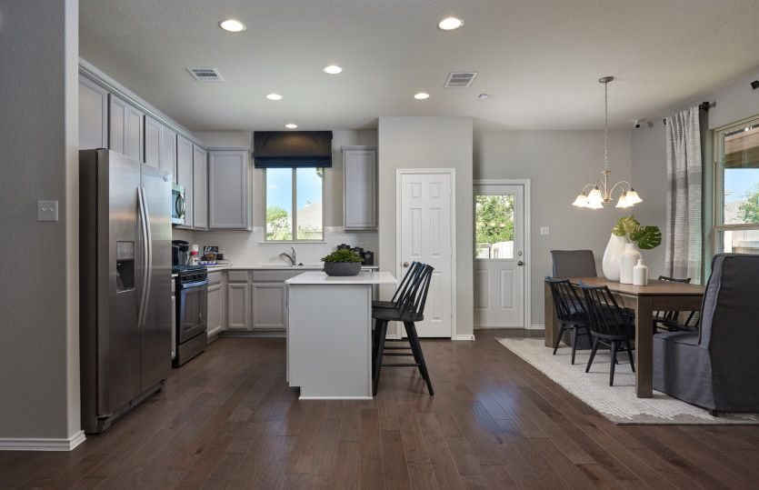 Kitchen featured in the Granville By Centex Homes in San Antonio, TX