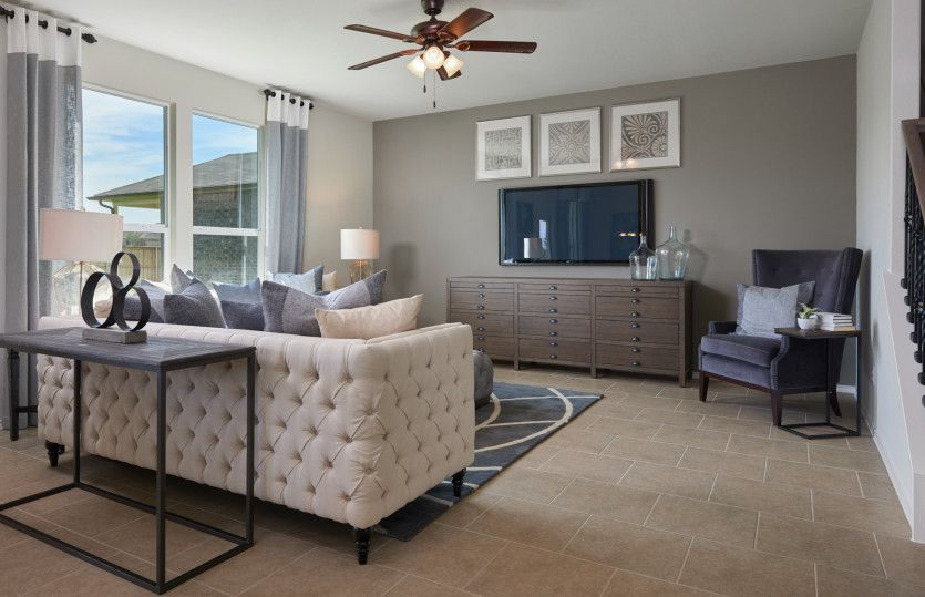 Living Area featured in the Sandalwood By Centex Homes in San Antonio, TX
