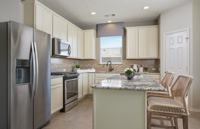 Kitchen featured in the Sandalwood By Centex Homes in San Antonio, TX