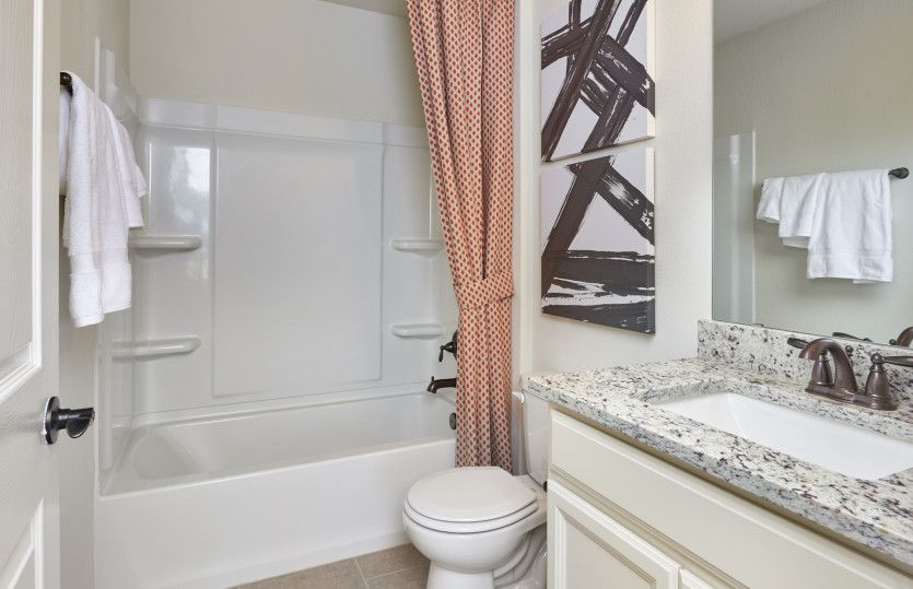 Bathroom featured in the Sandalwood By Centex Homes in San Antonio, TX