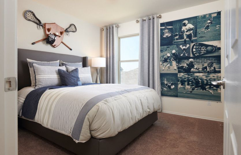 Bedroom featured in the Mesilla By Centex Homes in San Antonio, TX