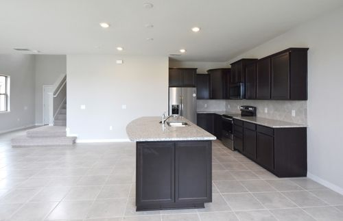 Kitchen-in-Driftwood-at-Eagle Meadows-in-Saint Cloud