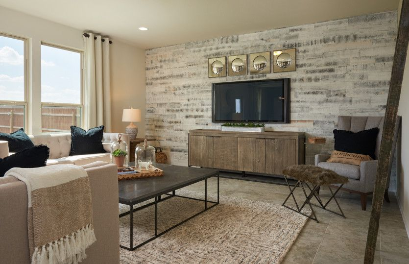 Living Area featured in the Kisko By Centex Homes in Dallas, TX