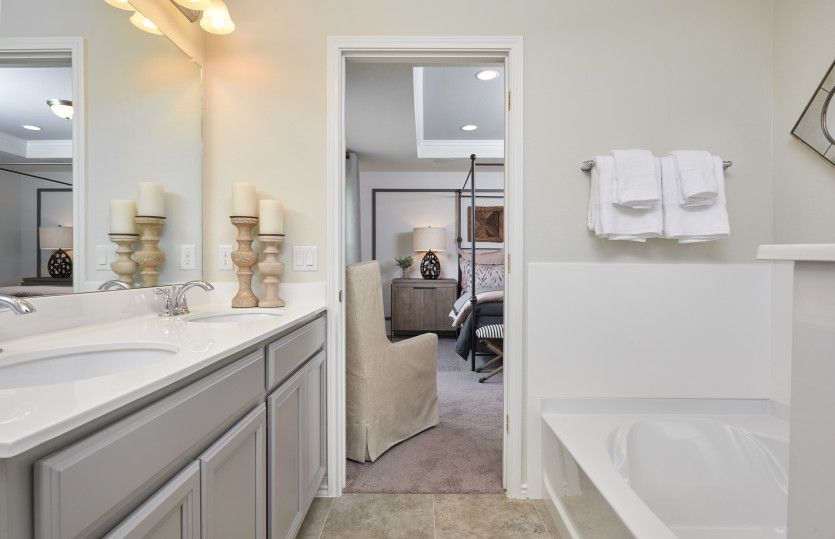 Bathroom featured in the Kisko By Centex Homes in Fort Worth, TX