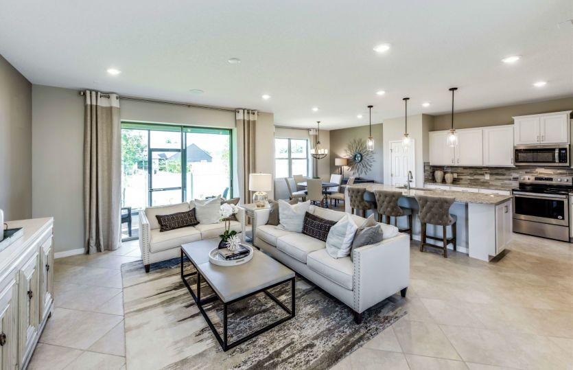 Living Area featured in the Driftwood By Centex Homes in Orlando, FL