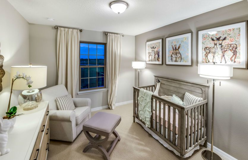 Bedroom featured in the Driftwood By Centex Homes in Orlando, FL
