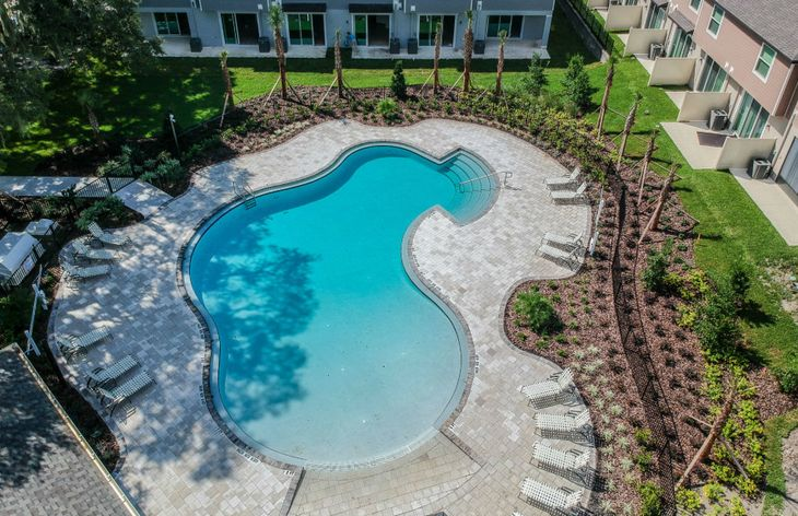 Zero-Entry Swimming Pool