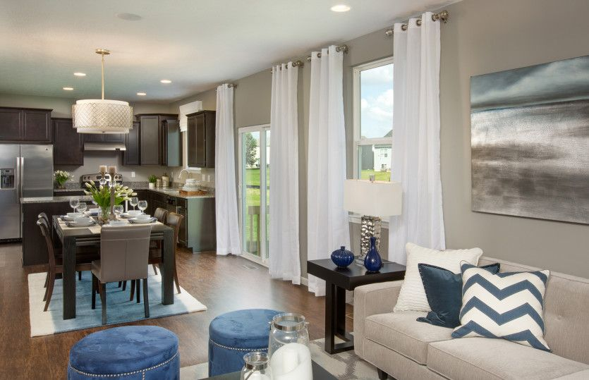 Living Area featured in the Oakdale By Centex Homes in Columbus, OH