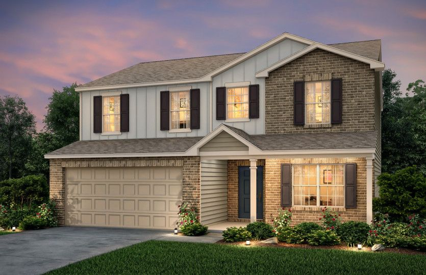 Exterior featured in the Aspire By Centex Homes in Nashville, TN