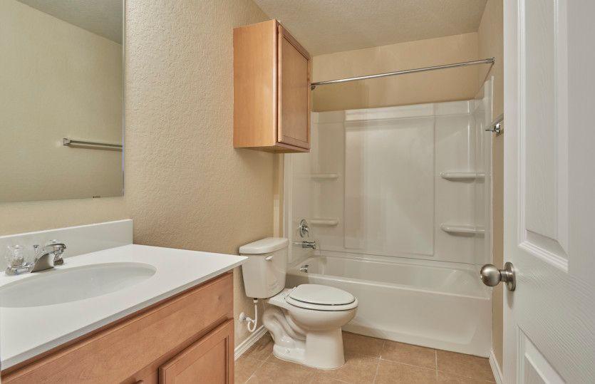 Bathroom featured in the Adams By Centex Homes in San Antonio, TX