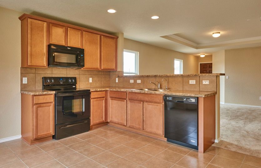 Kitchen featured in the Adams By Centex Homes in San Antonio, TX