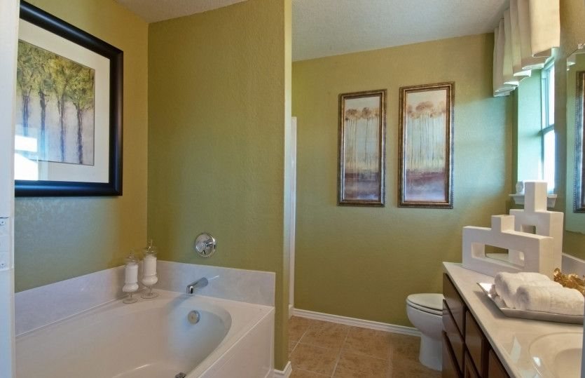 Bathroom featured in the Becket By Centex Homes in San Antonio, TX