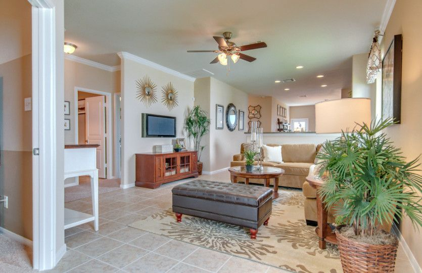 Living Area featured in the Taft By Centex Homes in San Antonio, TX