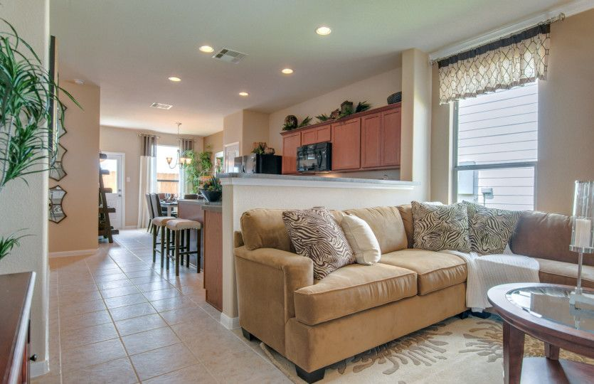 Greatroom-and-Dining-in-Taft-at-Silver Canyon-in-San Antonio