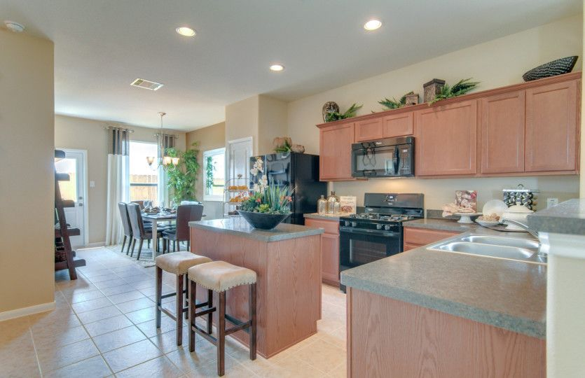 Kitchen featured in the Taft By Centex Homes in San Antonio, TX