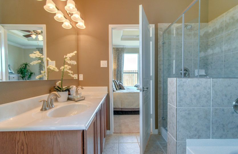 Bathroom featured in the Taft By Centex Homes in San Antonio, TX